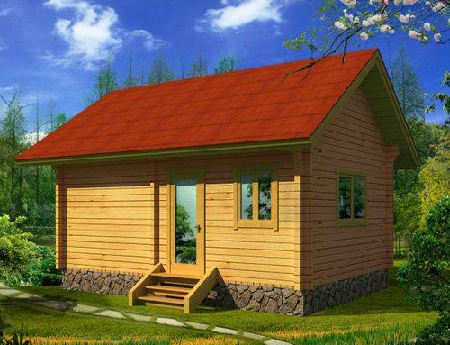 IG-P-003 Prefab wood tool house for garden