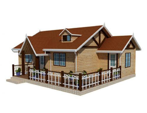IG-1-042 China manufacturer of timber house construction