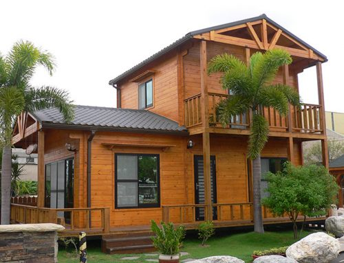 IG-2-039 China log home supplier for wooden cabin with competitive price